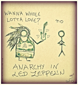 anarchy in led zepellin