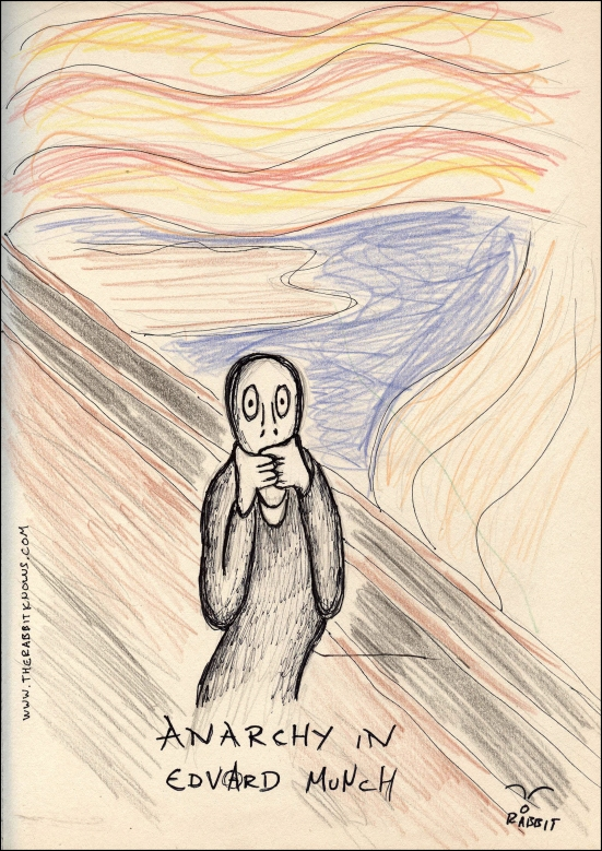 Anarchy in edvard munch
