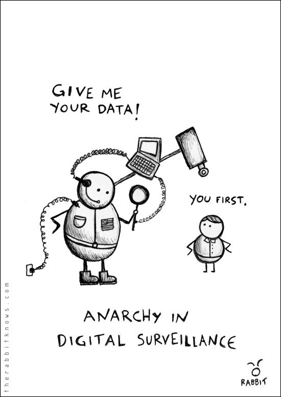 Anarchy in digital surveillance