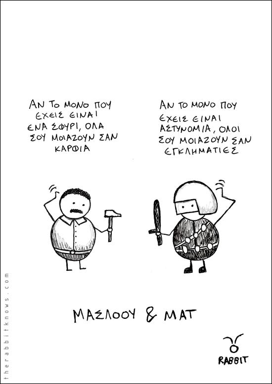 Μάσλοου και ΜΑΤ